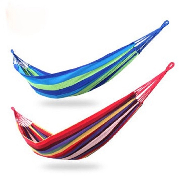 Single outdoor portable camping hammock thicken camping hammock hammock camping