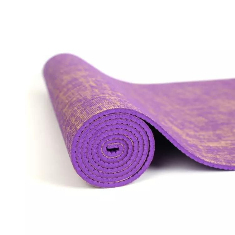 Tpe yoga mat 6mm environmentally e-friendly non-slip yoga mat