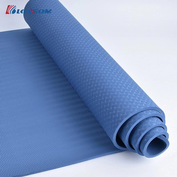 Exercise Yoga Mat High Quality Manufacturer Gymnastics TPE Aerobic Yoga Mat