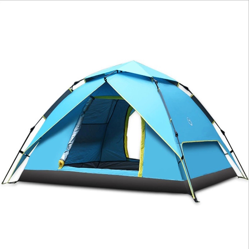 Waterproof camping tents 3-4 person High Quality Fashion Automatic Pop Up Outdoor Camping Tent