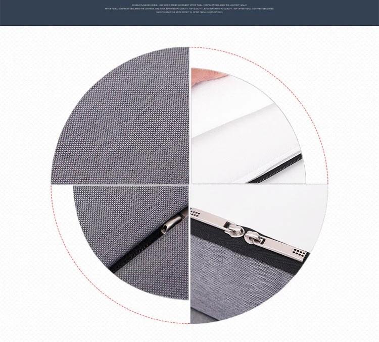 Customized Logo Laptop Sleeve Briefcase Simple Felt Bag Laptop Bag