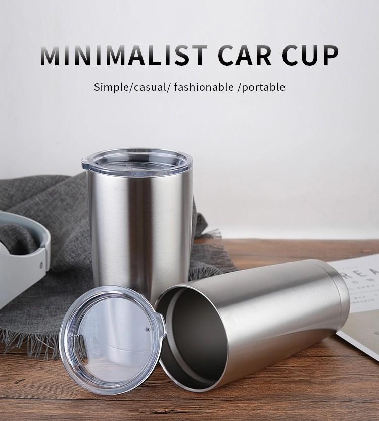 BPA Free 20 oz Coffee Mug Insulated Vacuum Double Wall Stainless Steel Tumbler
