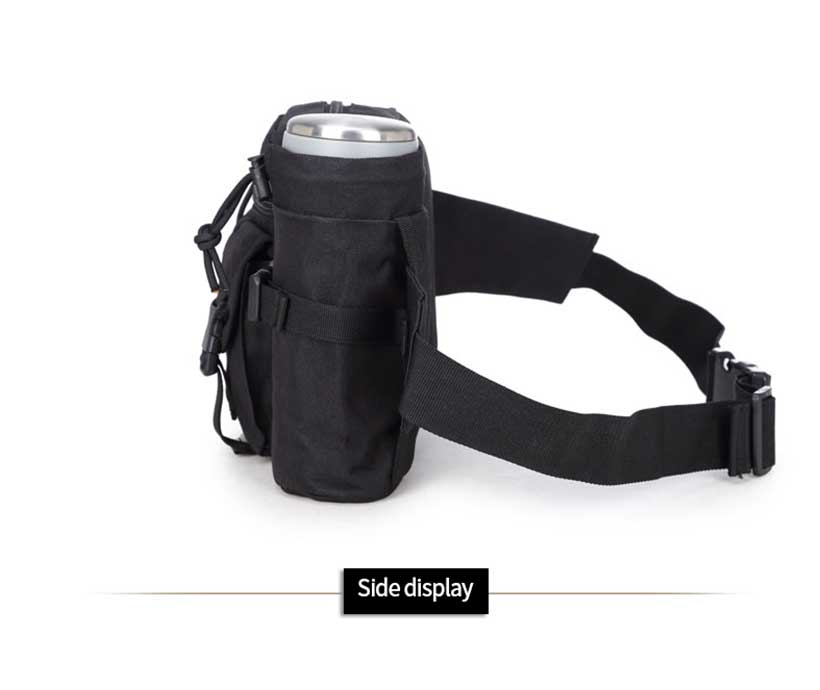 Tactical Waist Pack Pouch Fanny Hip Belt Bag Wholesale Hiking Running Water Waist Pack With Water Bag
