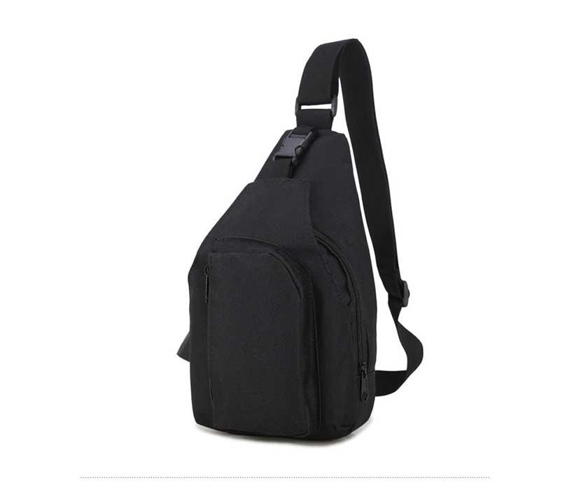 Crossbody Chest Bag Nylon Tactical Small Chest Sling Bag For Men