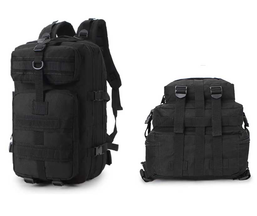 Tactical Backpack 40l Military Large 3P Tactical Backpack Military Camouflage Camping Backpack
