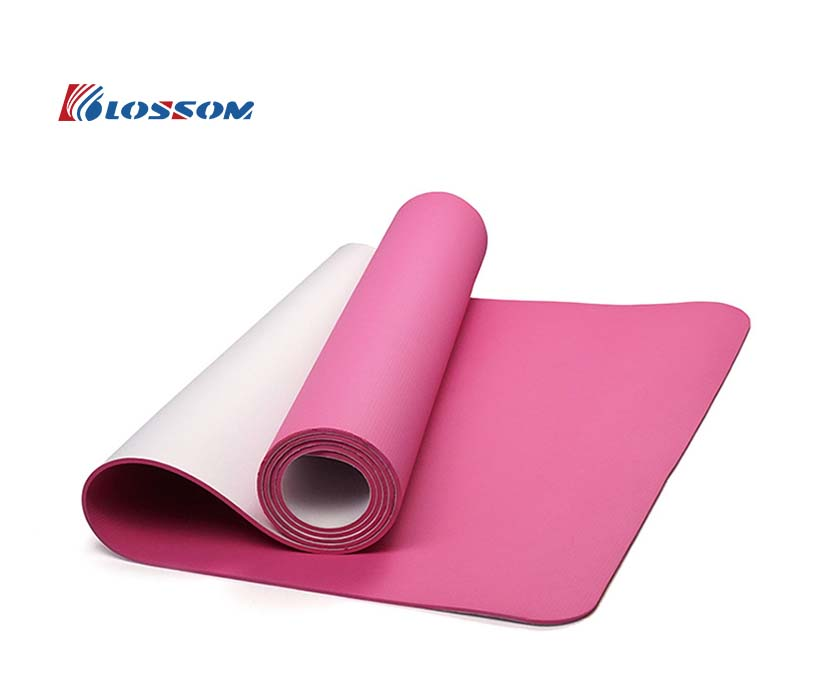 High Density Eco-friendly 183*61*0.5cm Custom Print TPE EVA Yoga Mat