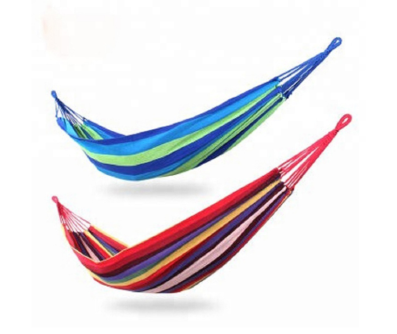 Single outdoor portable camping hammock thicken camping hammock hammock camping