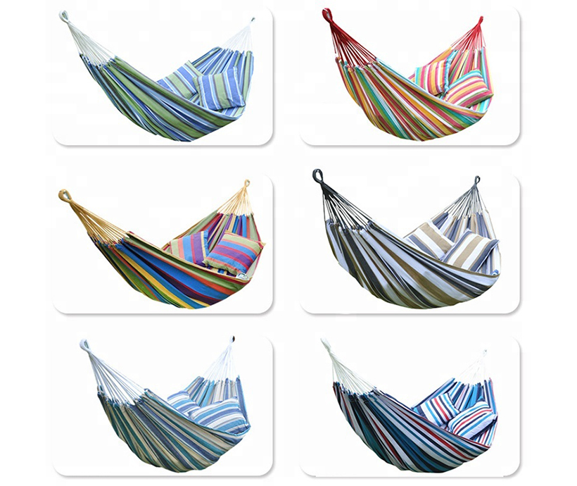 Oversized Pure cotton camping hammock double Parachute camping hammock camping hammock tent