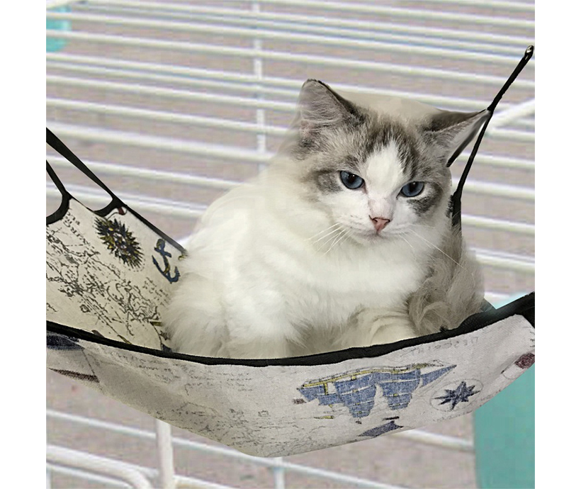 Comfortable Soft pet hammock car seat cover pet hammock bed pet hammock for cage