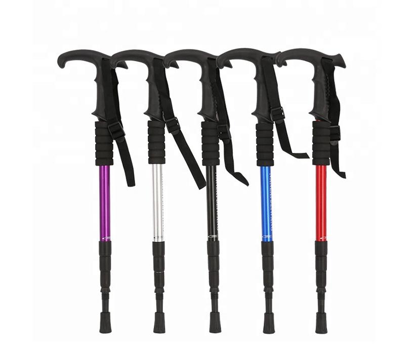 Fashion walking sticks foldable walking sticks walking sticks for hiking hiking poles