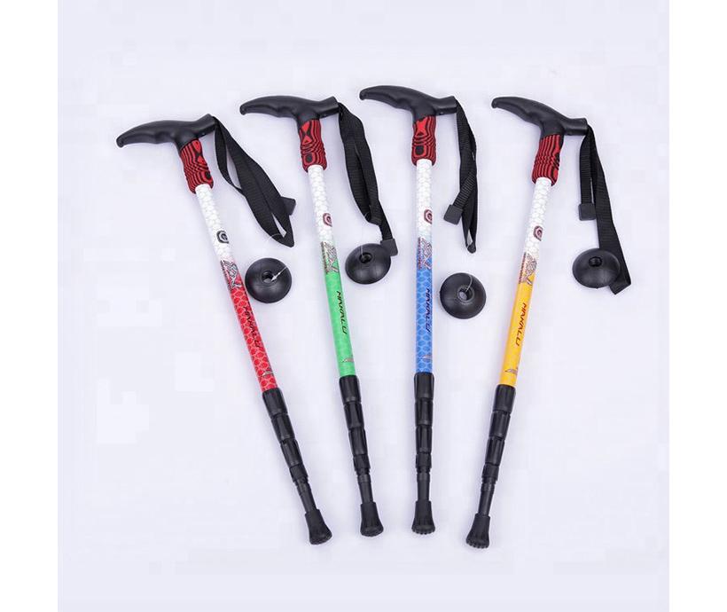 Retractable Alpenstock& Portable Trekking Stick