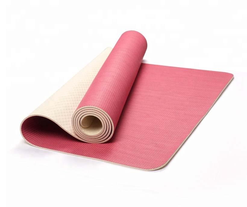 PVC 2018 manufacturer Cheap custom PVC yoga mat