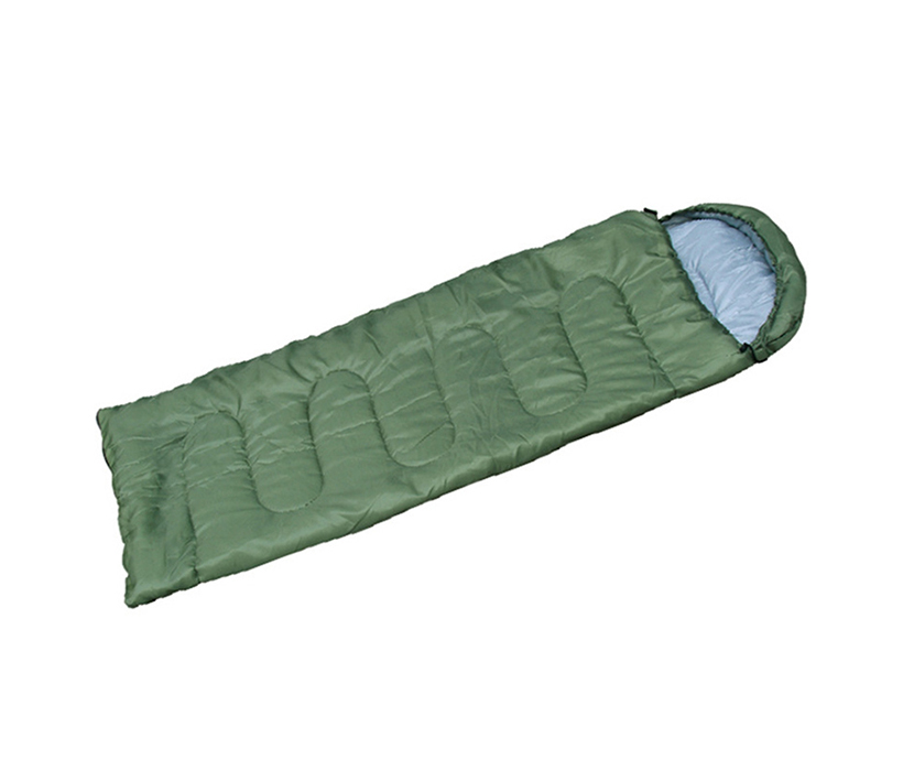Outdoor Adult Hooded Camping Envelope Sleeping Bag