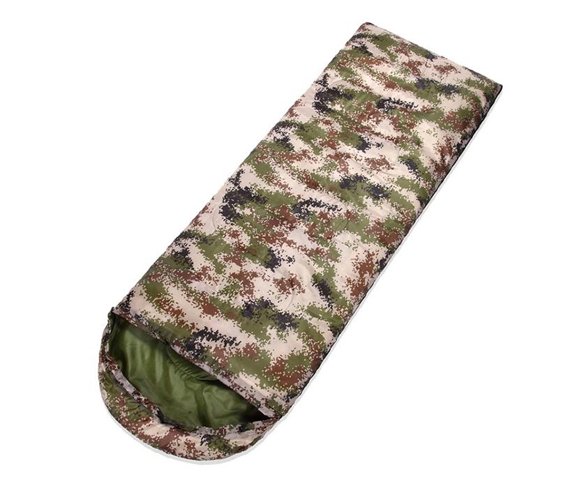 Envelope Form Lightweight Waterproof Camouflage Sleeping Bag