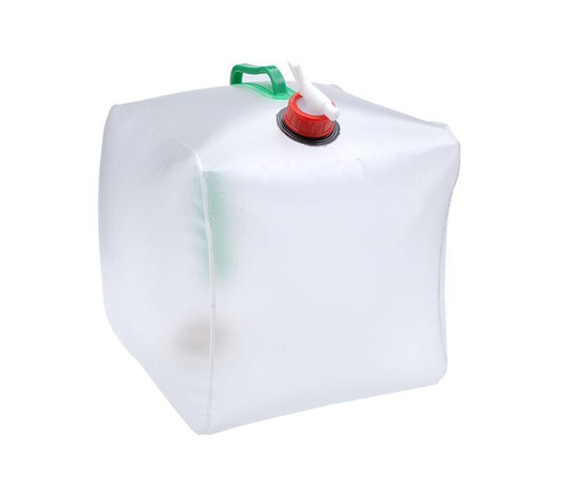 Outdoor folding kettle portable 20L tank bucket outdoor camping portable picnic water bag bucket