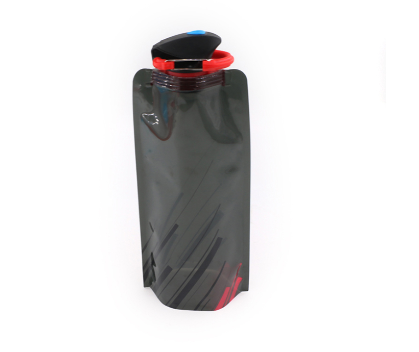 Manufacture Drinking Foldable Spout Bag Plastic Drinking Water Pouch with Custom Colors