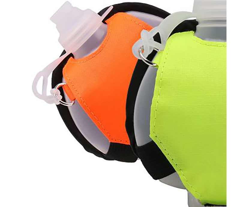 Running Sport Water Bottle Portable 200 ML BPA Free Plastic Wrist Water Bottle with Strip