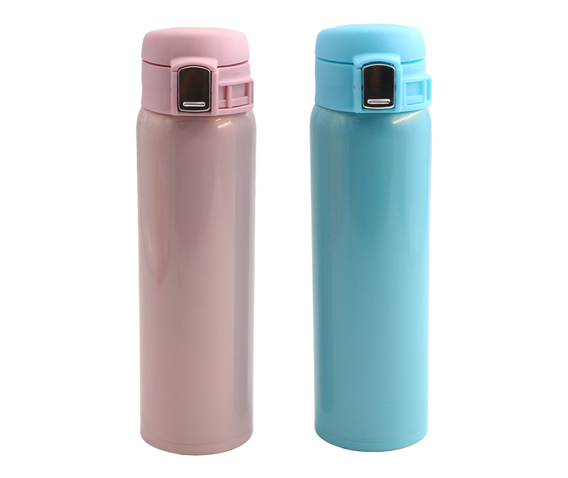 double wall stainless steel water bottle travel mug 18oz stainless steel vacuum cup