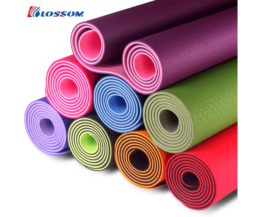 High quality custom print yoga mat manufacturer yoga mat pvc yoga mat