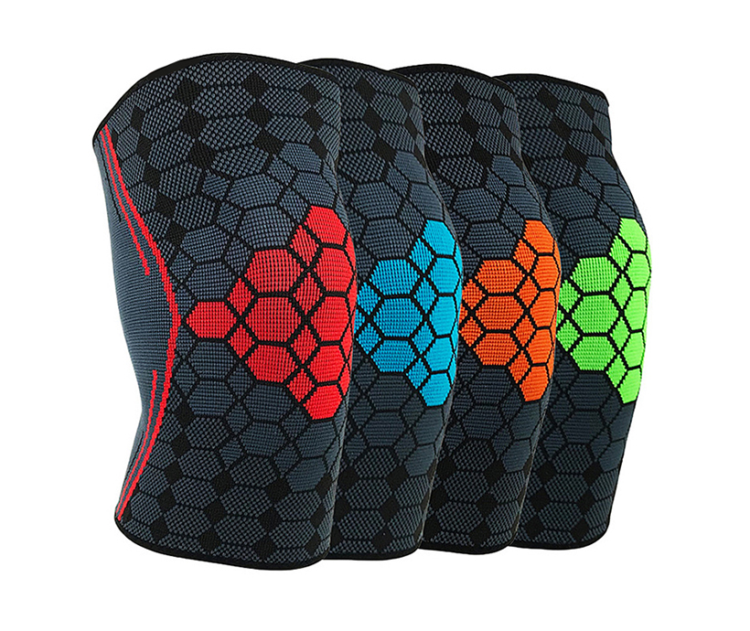 Customized Sports Knee Protector Professional Design Breathable Outdoor Angle Adjustable Knee Pad