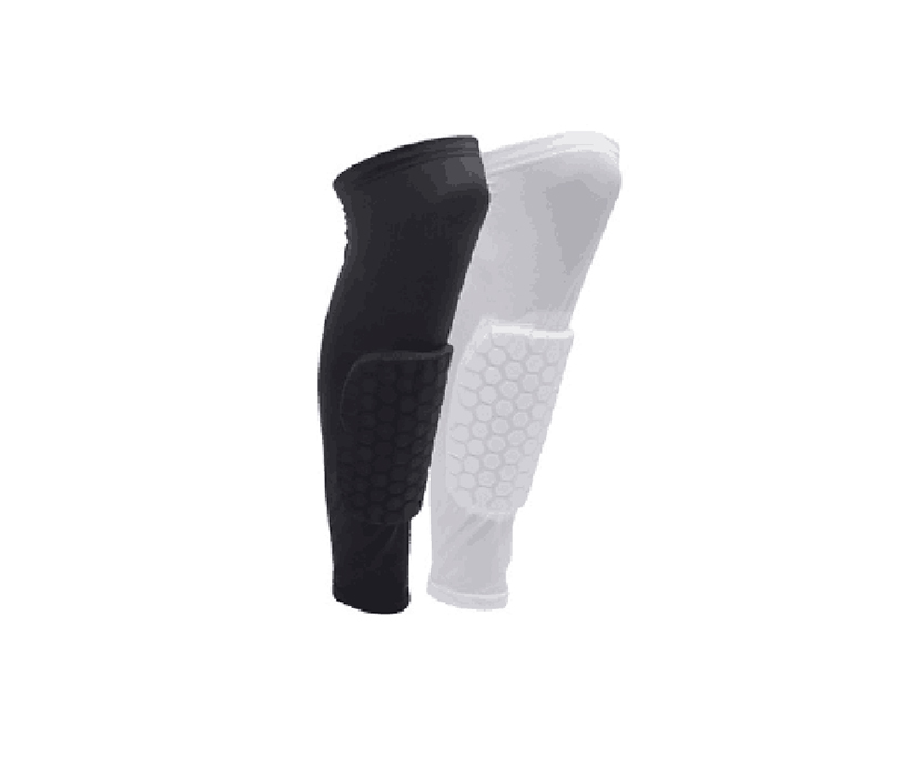 Custom Warm Knee Sleeve Brace Black Cotton Knee Warm Support Soft Leg Guard