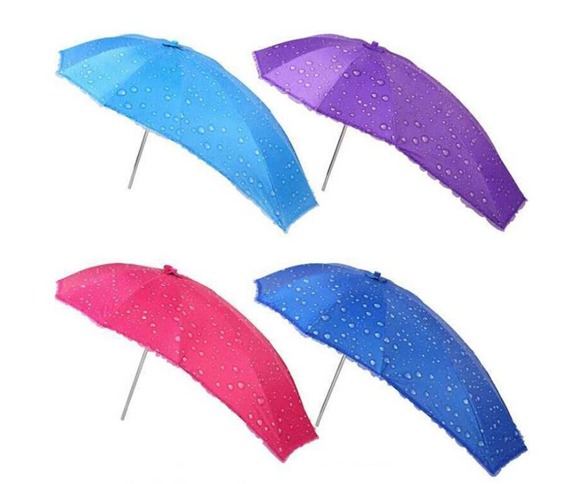 Wholesale Windproof and Waterproof Sun Outdoor Motorcycle Printed Umbrella For Rain