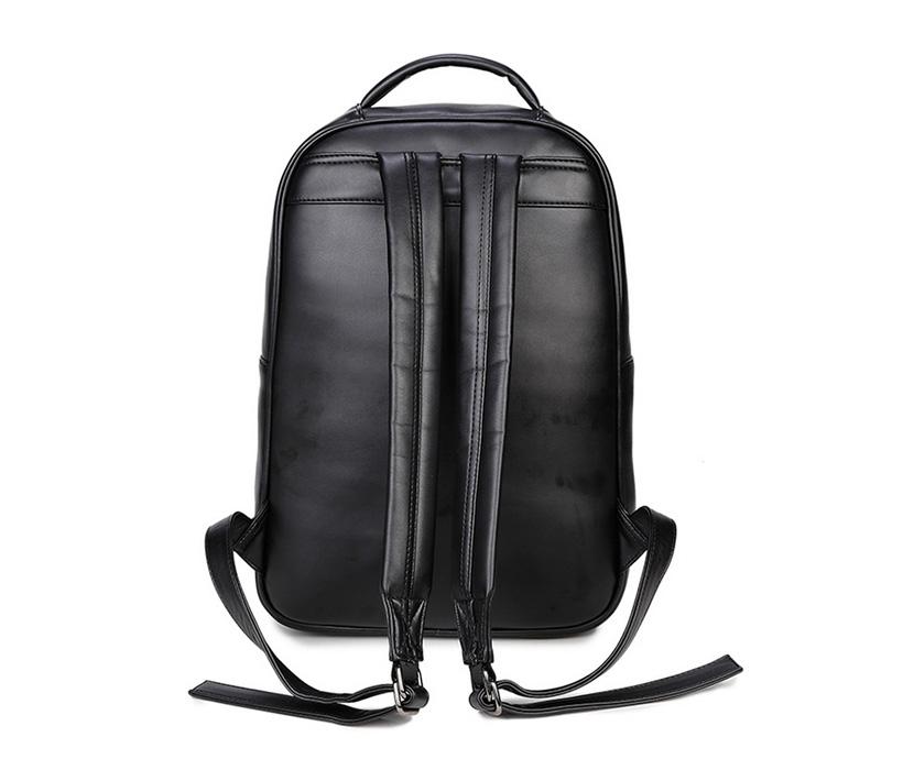 Halloween 3D Grimace Pirate Captain PU Leather Colorful Man Double-shoulder Rivet Sports Notebook Bag Computer Backpack