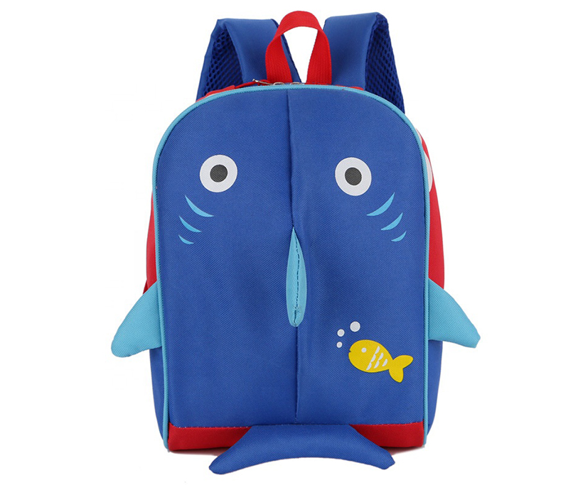2019 New Trendy Cartoon Lovely Student Backpack With Animal Pattern Kid's School Bag