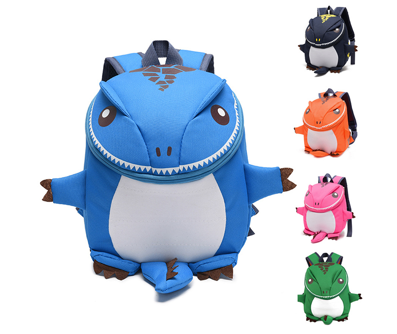 Cute Cartoon Animal Kindergarten Student Outdoor Backpack Bags