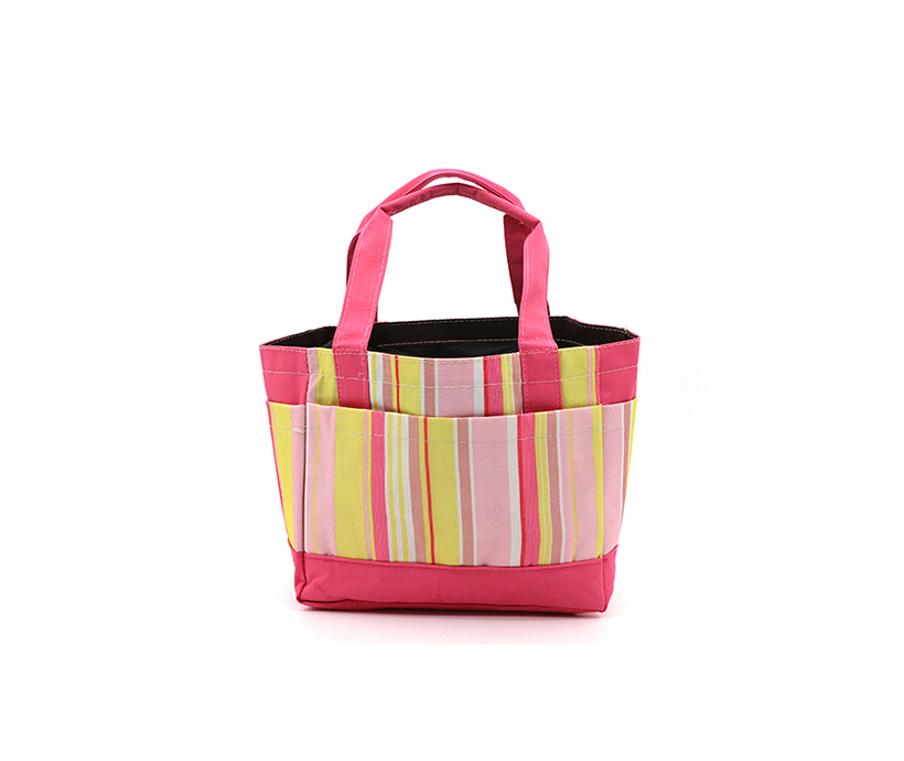 Custom Portable Oxford Outdoor Picnic Thermal Cooler Tote Lunch Bag