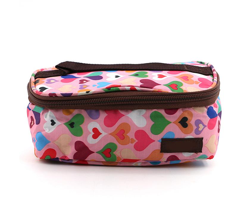 Custom Small Capacity Picnic Lunch PEVA Handle Thermal Cooler Tote Bag