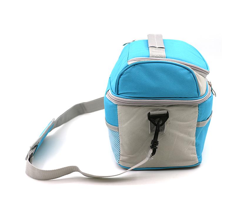 Custom Capacity Handle Thermal Outdoor Picnic Lunch Layered Aluminium Foil Cooler Tote Bag
