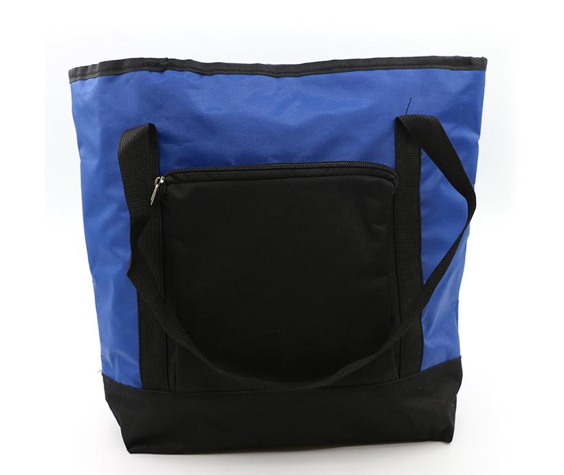 Custom Capacity Handle Thermal Outdoor Picnic Lunch Aluminium Foil Cooler Tote Bag