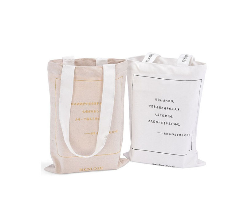 Factory Cheap Price Shopping Tote 100% Cotton Bag with Logo