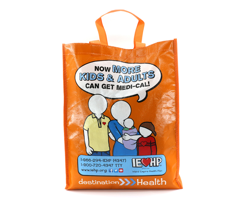 Cheap Promotional Custom PP Non Woven Laminated Shopping Bag