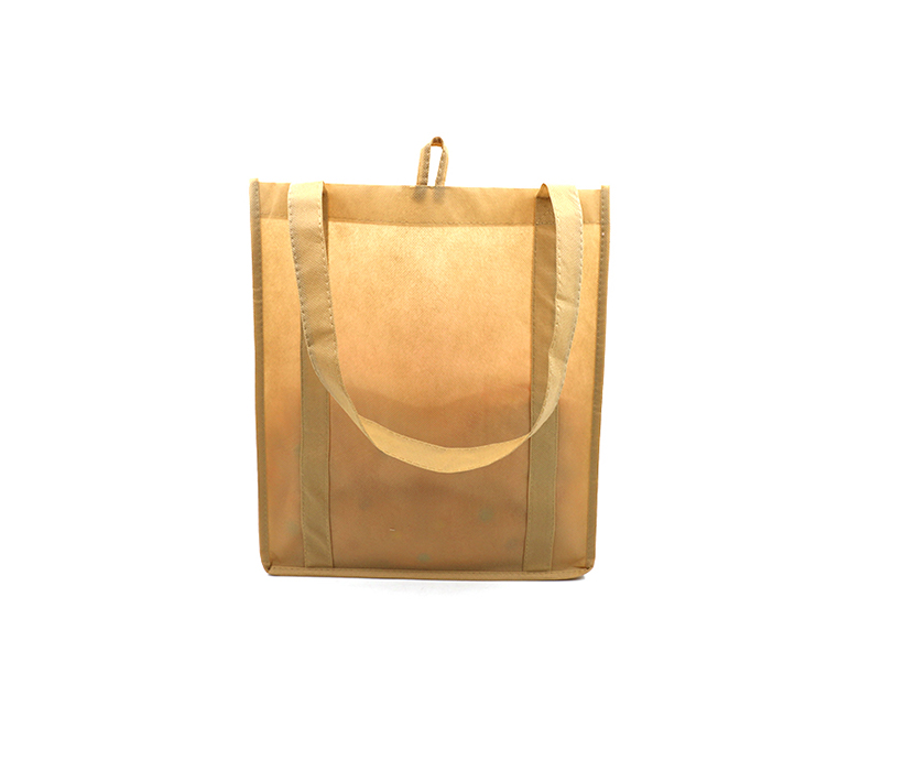 Custom Recycling Environmental Shopping Non Woven Handle Tote Bag