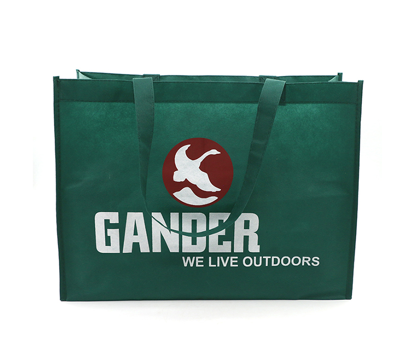 Custom Recycling Environmental Shopping Non Woven Tote Bag