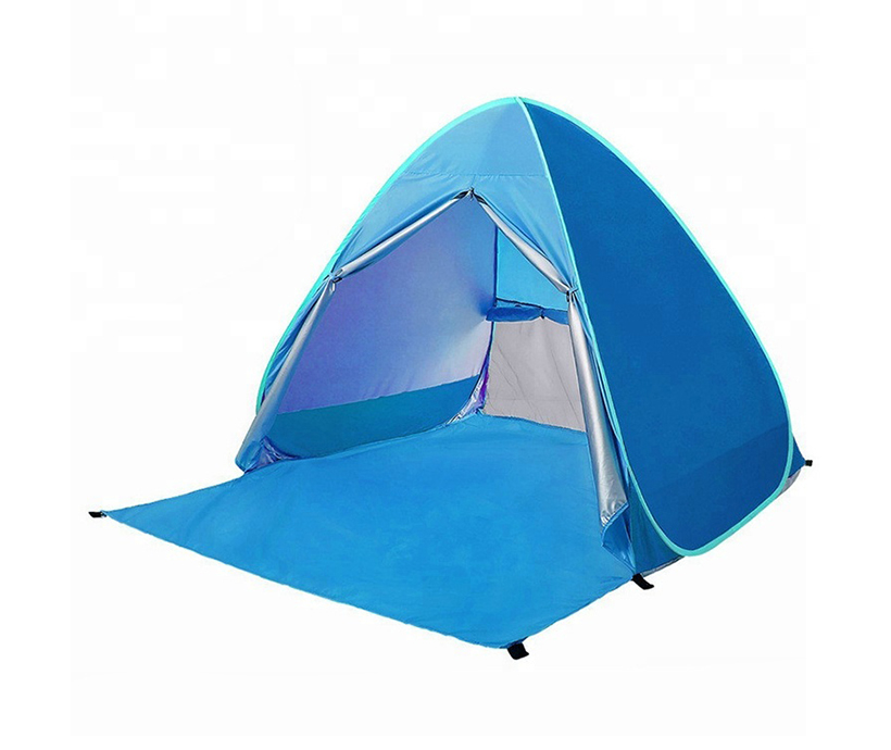 Anti Ultraviolet Light 1-2 Person Automatic Pop Up Outdoor Sun Shade Tent Sun Shelter Beach Tent