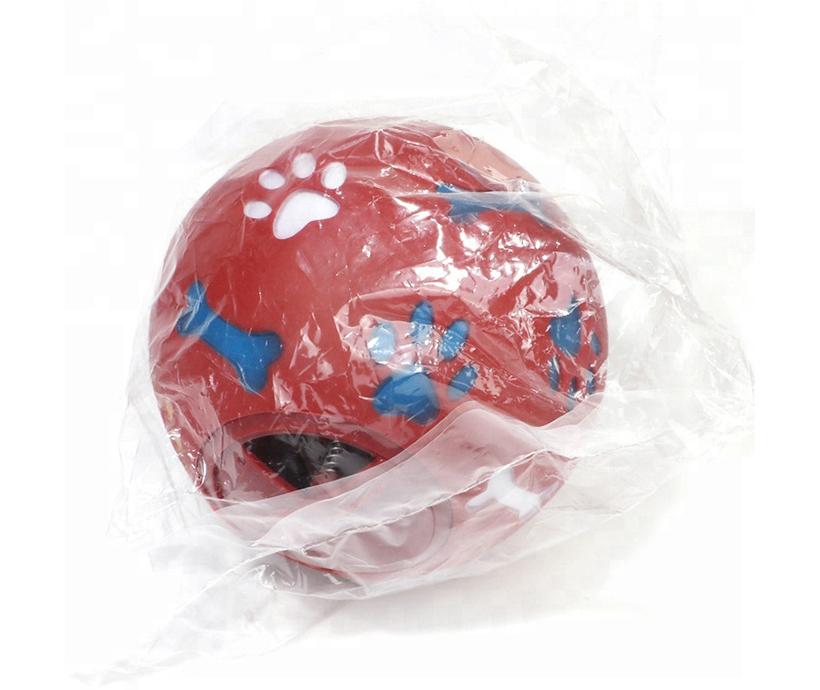 Big Size Eco-friendly Pet Ball 14 CM Soft Dog Chew Toy Bone Toy