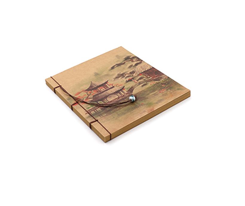 Top Selling Custom Kraft Paper Blank Notebook