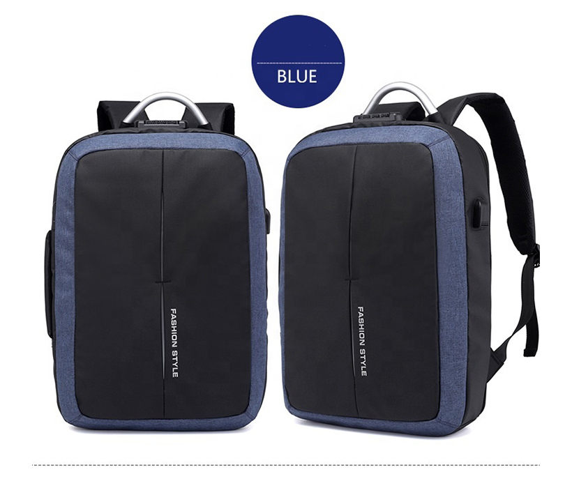 Wholesale new business trip fashion backpack water resistant backpack multi-function anti-theft with usb charging bag