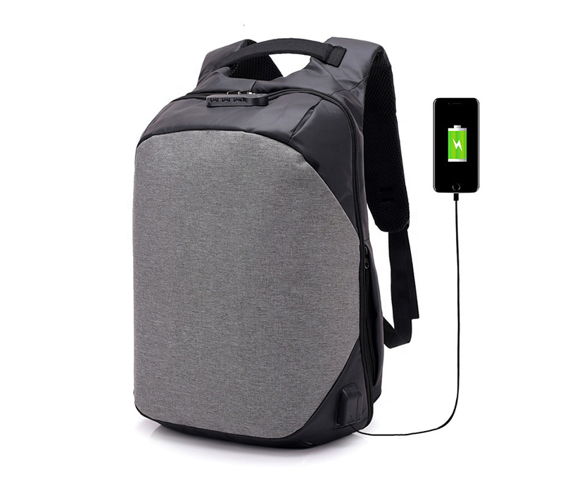 USB charging smart backpack anti-theft password lock shoulder waterproof business travel college backpack