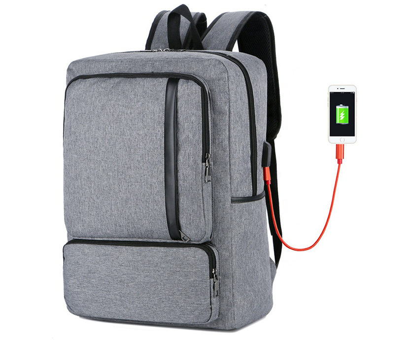 Wholesale Fashion Casual USB Charging Backpack Anti-theft Laptop Backpack