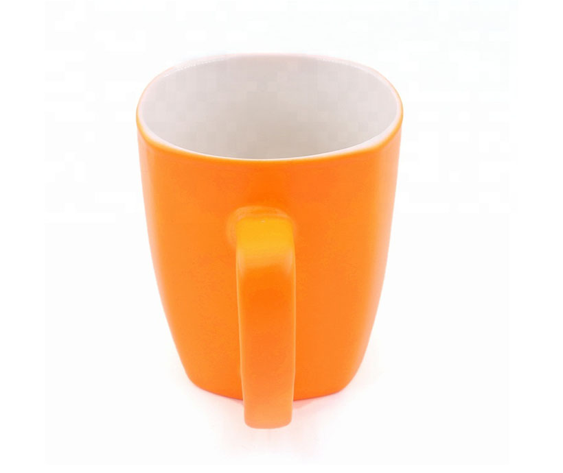 Candy color matte rubber coating cup Coating mug coffee cup custom