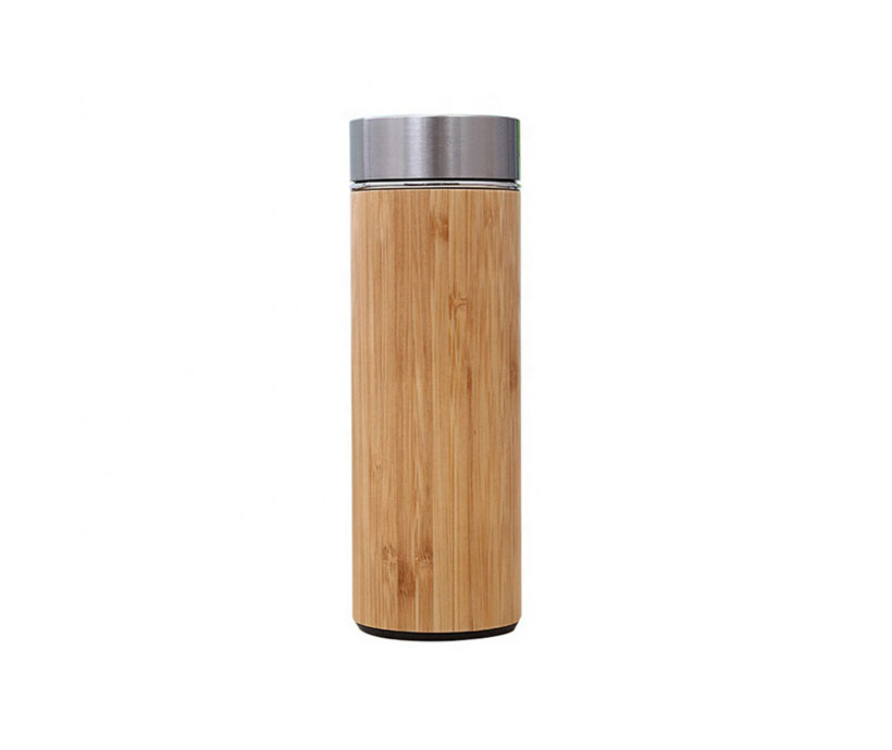 BPA Free New Design Non-leak Double Wall Bamboo Coffee Cup