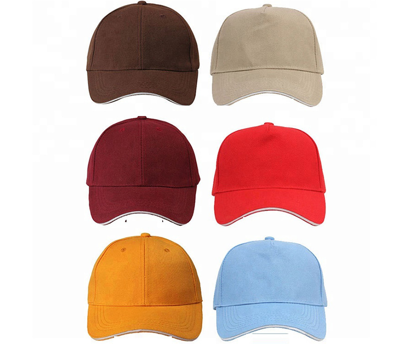 2019 100% cotton 5 panel hat baseball caps
