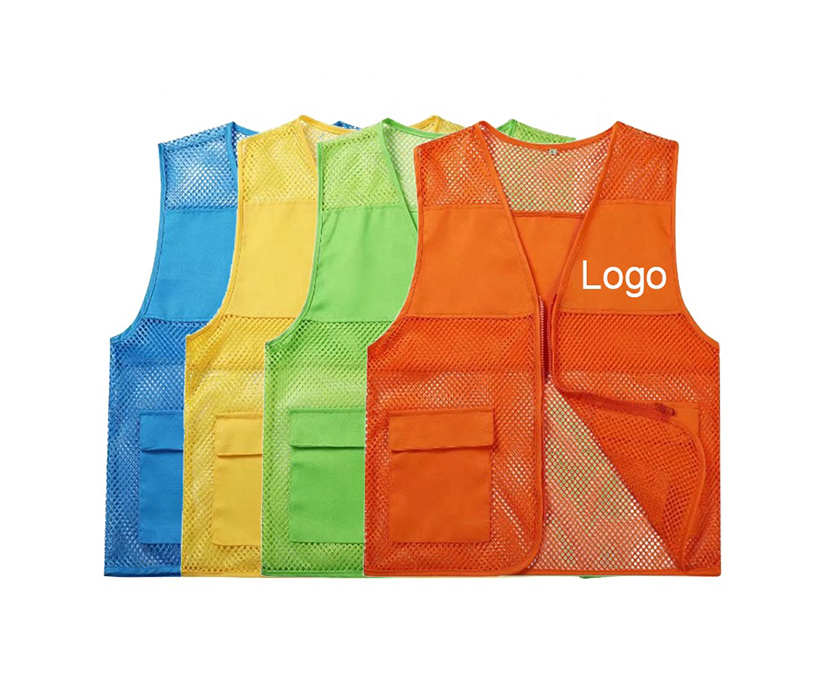 Men's Outdoor Vest Waistcoat For Camping Photography Volunteer Promotional Advertising Vest
