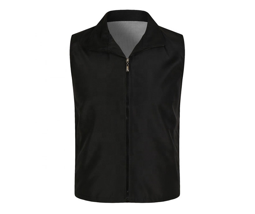 Men's Multi Color Waistcoat Advertising Supermarket work Vest